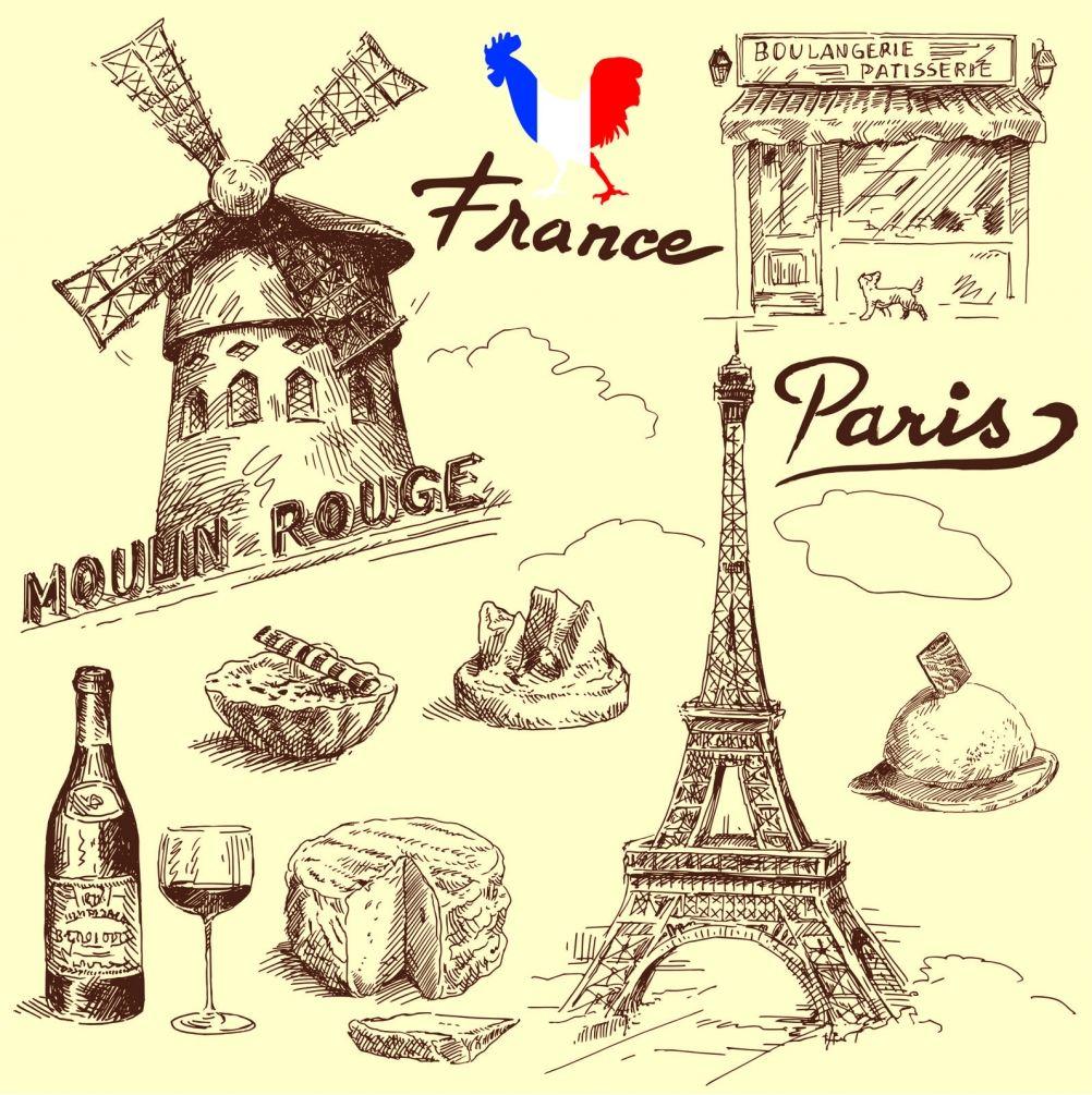 Картинки открыток на французском языке