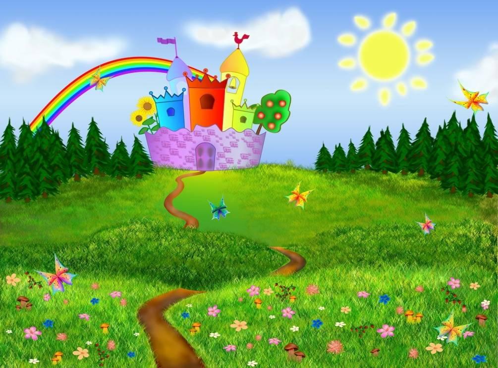 Днем, картинки волшебная сказка для детского сада