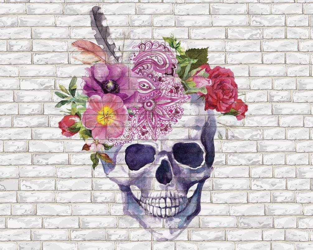 красивые картинки с черепом и цветы характеристика прогностических предиктивных